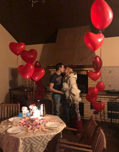 Как Волочкова, Подольская и Бородина поздравили своих мужчин с 14 февраля