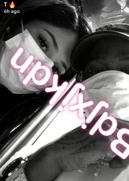 Кайли Дженнер поделилась совместным снимком с отцом своей дочери