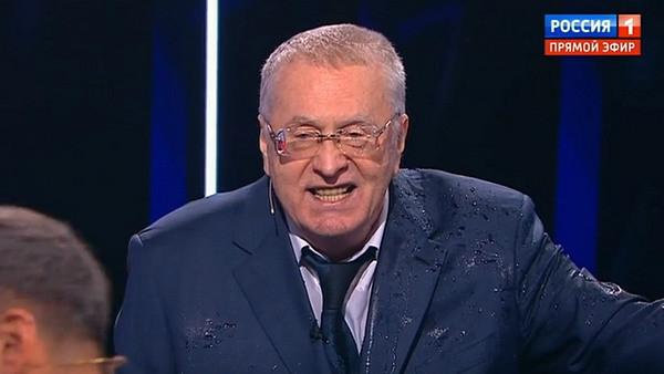 Владимир Жириновский обматерил Ксению Собчак в эфире телешоу