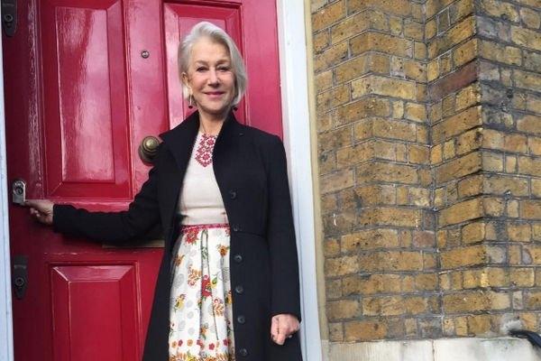 Хелен Миррен в алом платье привлекла внимание всех на мероприятии