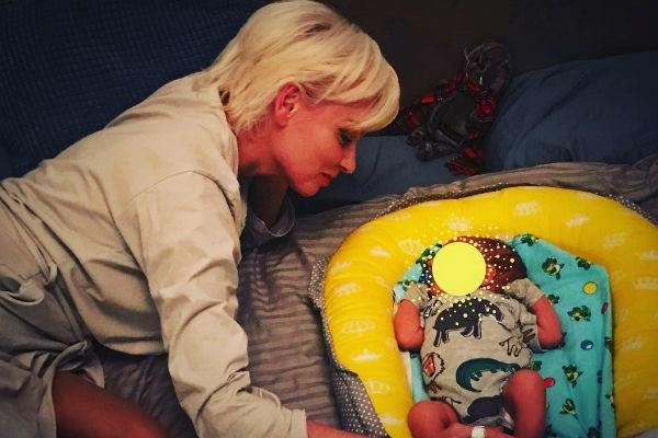 Жанна Эппле впервые стала бабушкой