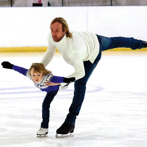 Филипп Киркоров растит из дочери олимпийскую чемпионку