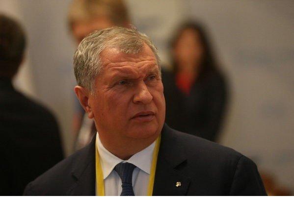 Ульяна Сергеенко встречается с главой «Роснефти» Игорем Сечиным