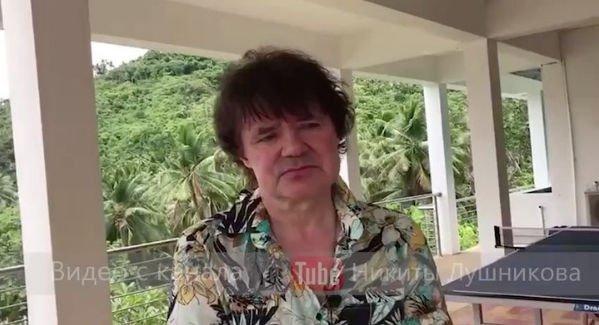 Пьяный Евгений Осин находится в ужасном состоянии