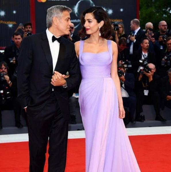 Джордж Клуни вспомнил первую встречу с женой