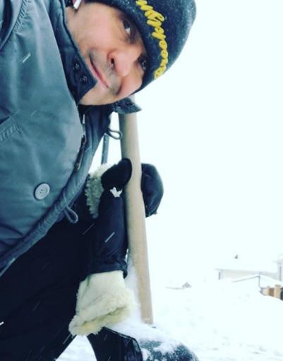 Алферова, Погребняк и Костюшкин радуются сказочной зиме