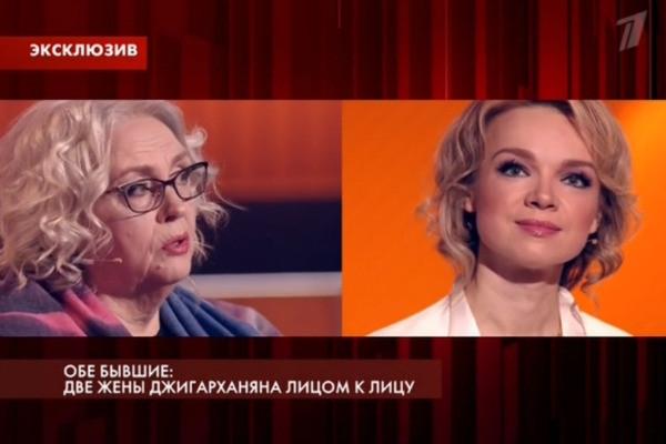 Бывшие жены Армена Джигарханяна встретились лицом к лицу