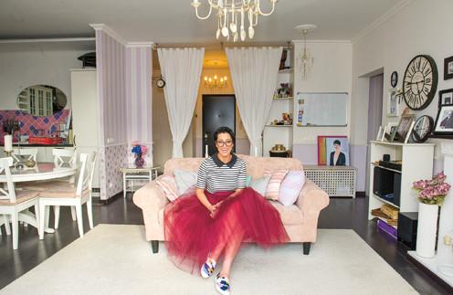 Катя Гершуни осталась без квартиры после развода