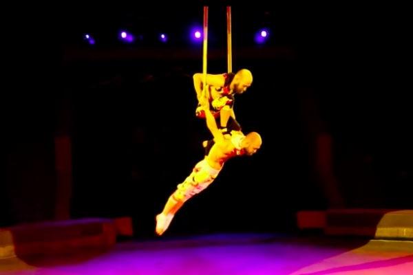 Акробат цирка Запашных сорвался во время выступления