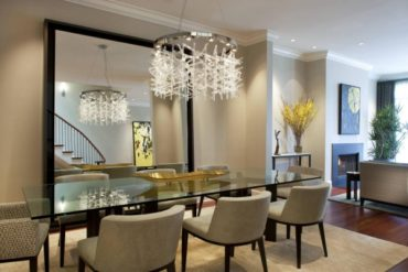 Make your home more comfortable — hanging chandeliers in the interior of your home
