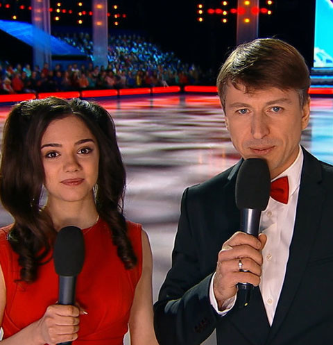 Евгения Медведева получила работу на Первом канале