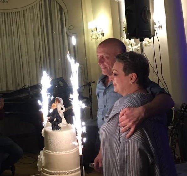Мария Аронова сыграла свадьбу с гражданским мужем
