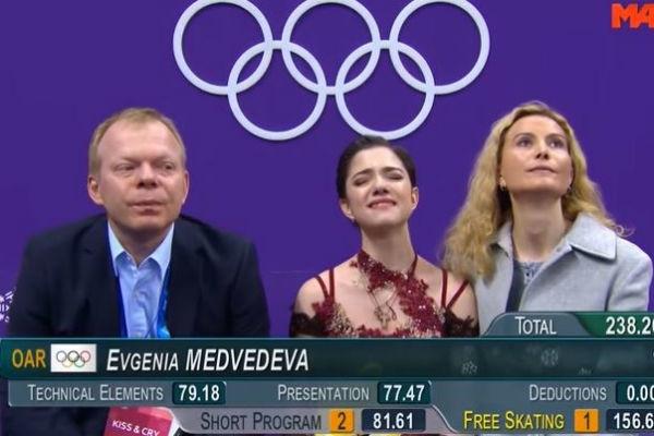 Фигуристка Евгения Медведева ответила на слухи о переезде за границу