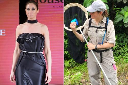 Как Сьюзан Финкбайнер изучает бабочек и дефилирует на Неделе моды