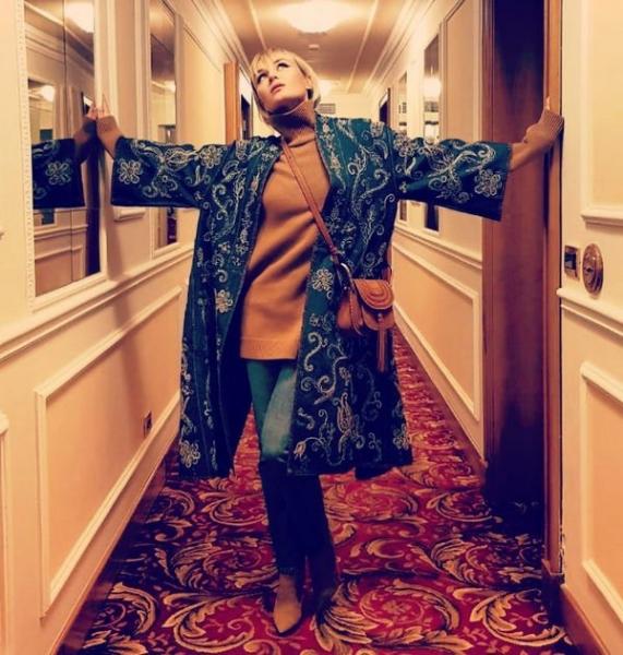 Полина Гагарина рассказала, как выбирает себе одежду
