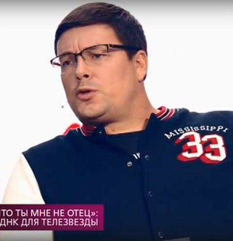 Андрей Чуев открестился от родства с отцом