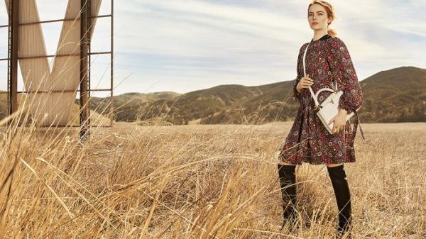 Эмма Стоун снялась в первой фотосессии для Louis Vuitton