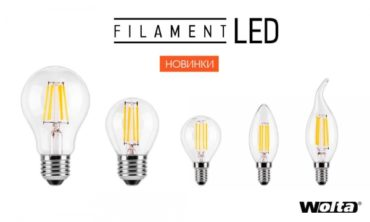 LED BULB FILAMENT WOLTA — BACK TO THE FUTURE!