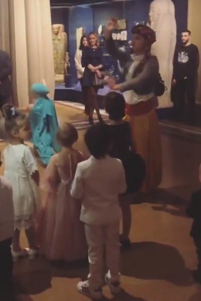 Тимати устроил для дочери праздник в Пушкинском музее