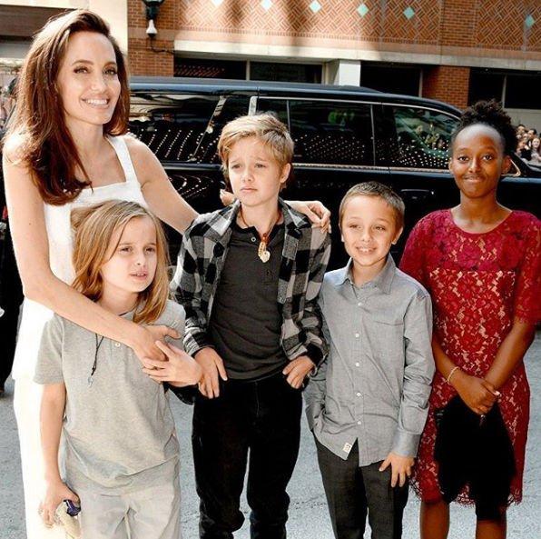 Анджелина Джоли сообщила о том, что для нее является главным в воспитании детей
