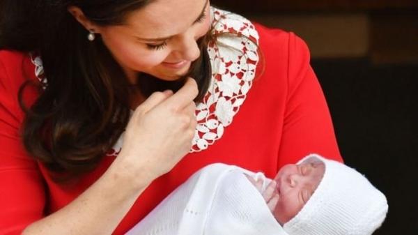 Новорожденный сын Кейт Миддлтон и принца Уильяма получил неожиданное имя