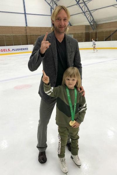 Плющенко защитил сына-чемпиона