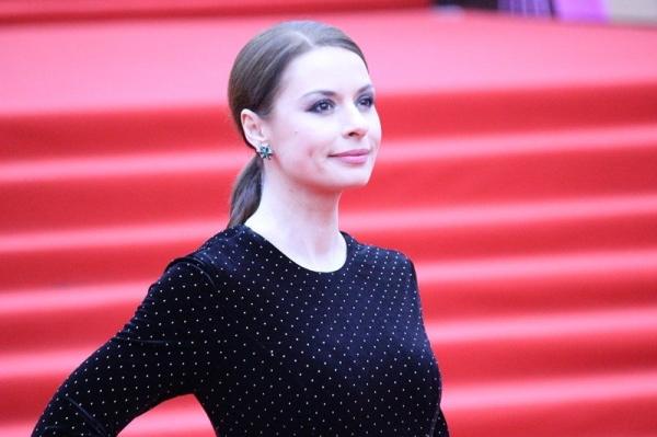 Ирина Лачина на красной дорожке ММКФ-2018