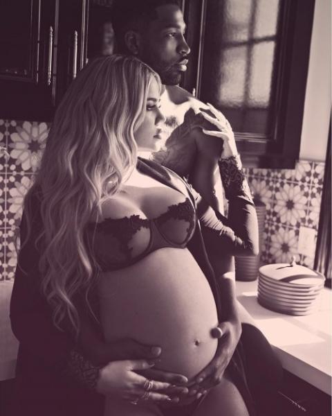 Тристан Томпсон изменил Хлое Кардашьян, когда та была на третьем месяце беременности