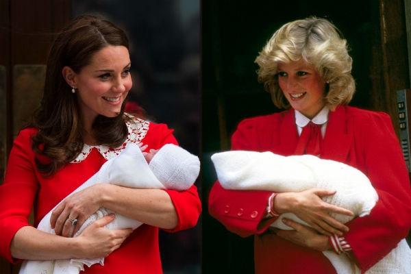Стало известно имя новорожденного сына Кейт Миддлтон