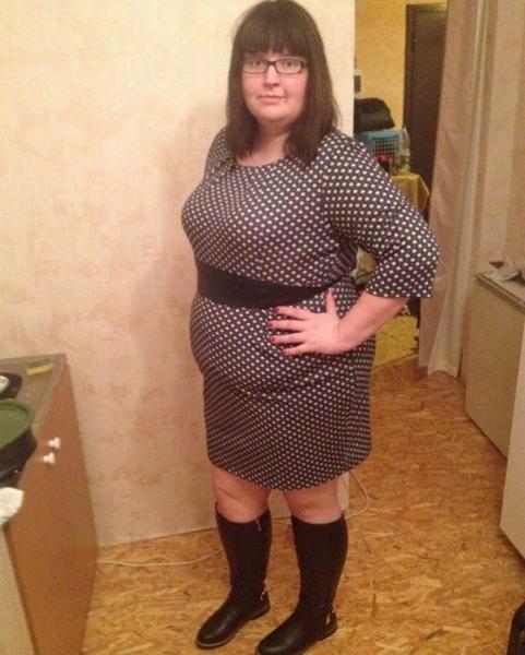 Саша Черно поделилась снимком, когда весила 143 кг