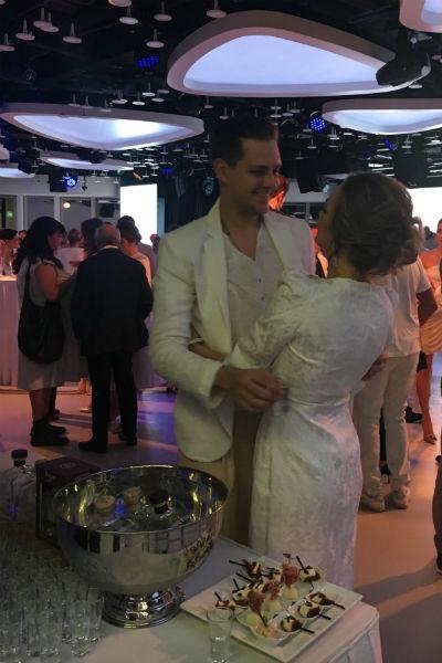 Аглая Тарасова и Милош Бикович слились в объятиях после расставания