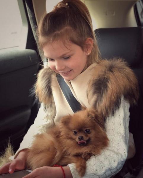Катя Жужа строга с дочерью из-за плохих оценок