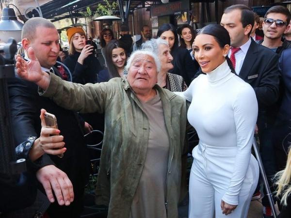 Ким Кардашьян впервые высказалась о событиях в Армении