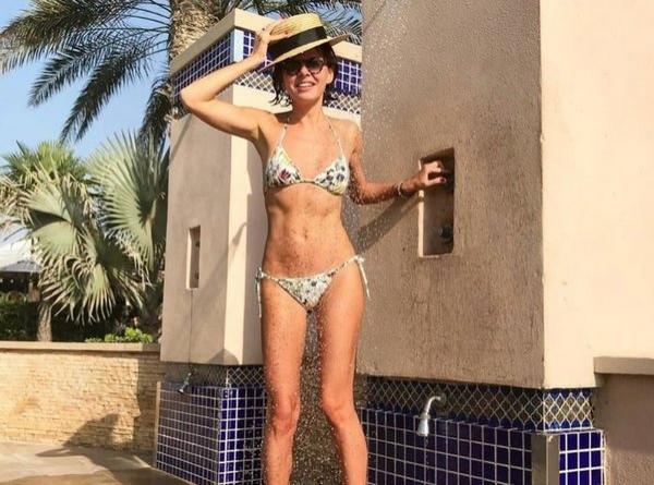 Оксана Лаврентьева похвасталась фигурой после того, как поправилась на 7 килограммов