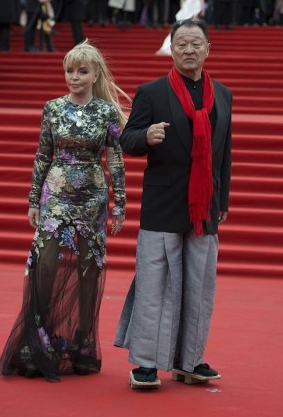 Звёзды вышли на красную дорожку на закрытии ММКФ-2018
