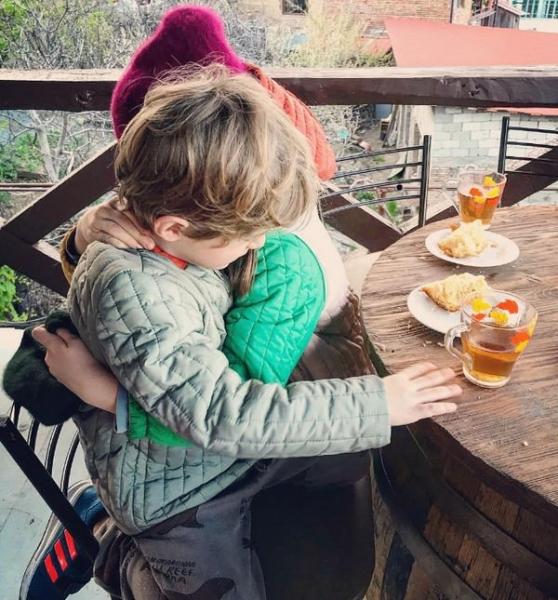 Резо Гигинеишвили поделился редким снимком сына