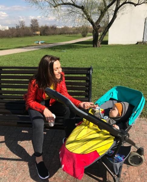 Надя Ручка опубликовала фото маленького сына, поздравив его с днем рождения