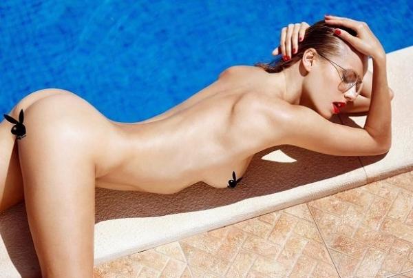Россиянка Ольга Де Мар снялась в сочной фотосессии для Playboy