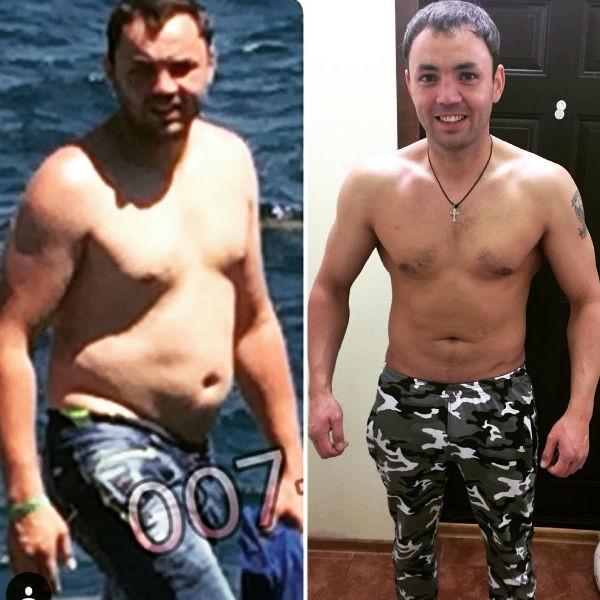 Гобозов продемострировал поклонникам невероятные результаты похудения
