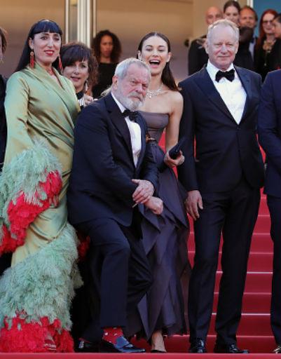 Боня и Куриленко затмили всех на закрытии Каннского кинофестиваля