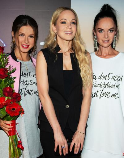 «Хочу любить»: Беременная Нюша презентовала собственный бренд одежды