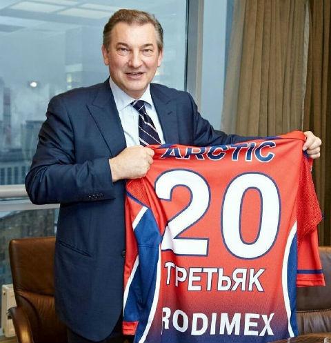 Внук Владислава Третьяка женился
