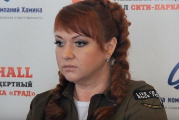 Ольга Картункова прокатилась по Москве на велосипеде