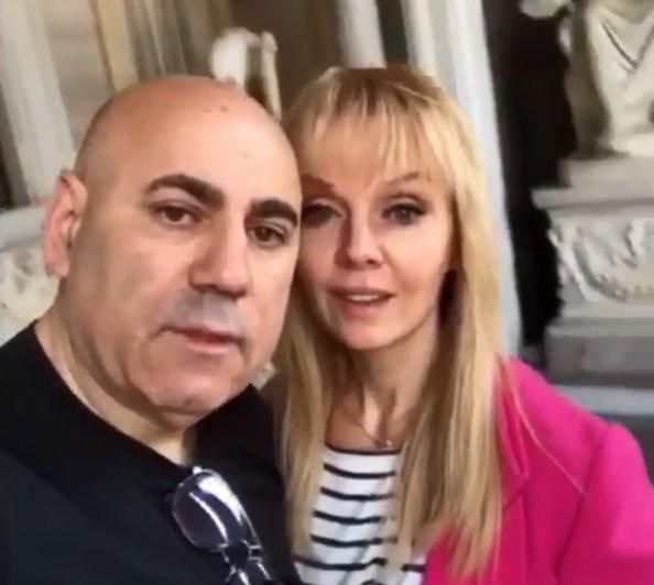 Валерия и Иосиф Пригожин устроили романтические выходные в Риме