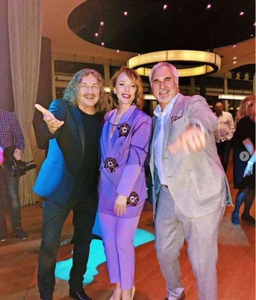 Альбина Джанабаева и Валерий Меладзе восхитили совместным выходом в свет