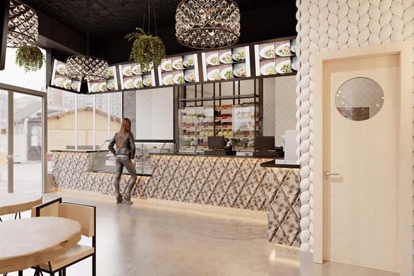 Портретная галерея: как будет выглядеть первый ресторан Ольги Бузовой