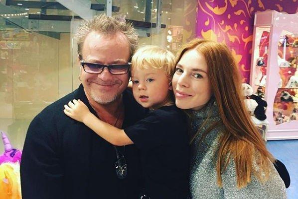 Наталья Подольская и Владимир Пресняков показали редкое фото маленького сына