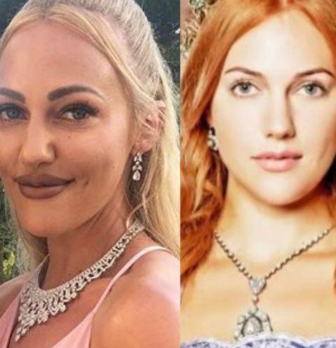 Звезда сериала «Великолепный век» изуродовала себе лицо