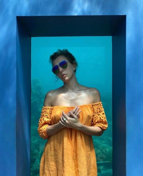 Светлана Бондарчук подвергла себя опасности ради удачной фотографии