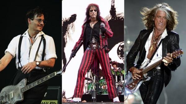 Джонни Депп впервые выступит в Москве с группой «Hollywood Vampires»